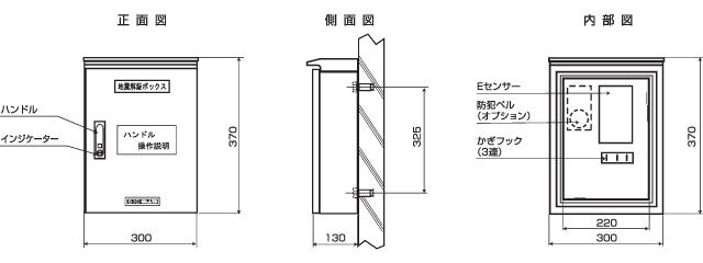 小型 地震解錠ボックス(LCE型)
